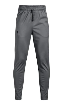 Under Armour 1331692 040 Tapered Pants Gray Youth Boy
