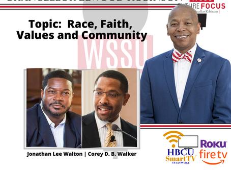 Race, Faith, Values and Community