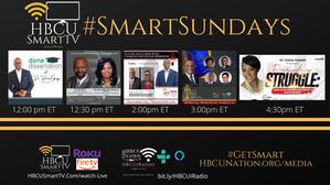 This Sunday on #HBCUSmartTV! #SmartSundays