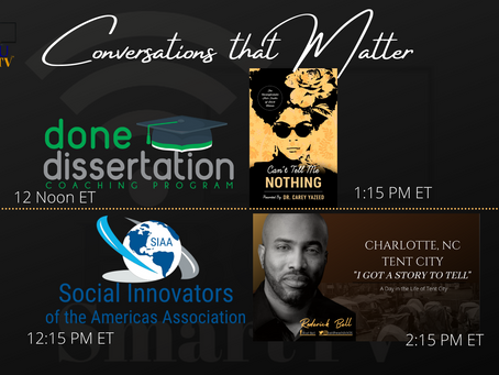 Sunday Afternoon - Conversations that Matter on HBCU Smart tv