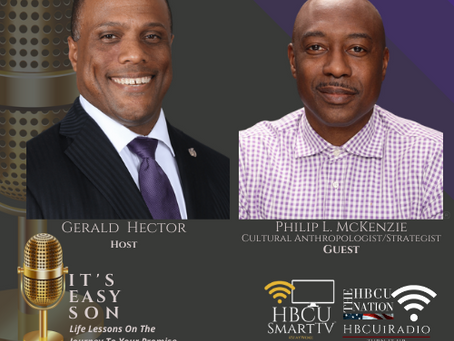 Mr. Gerald Hector welcomes Cultural Anthropologist, Mr. Philip L. McKenzie to IT'S EASY SON!