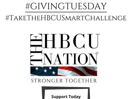 #TakeTheHBCUSmartChallenge this #GivingTuesday