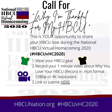 HBCU Students_Alumni Call for Why I'm Th