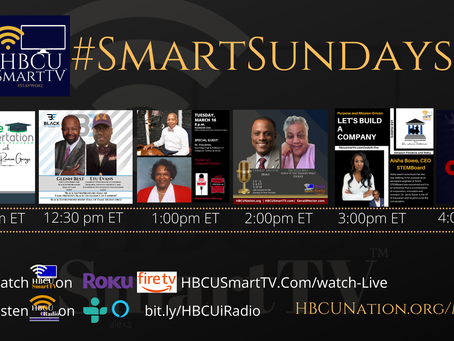#SmartSundays on HBCU Smart TV