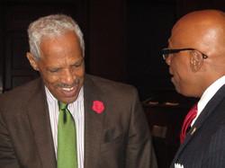 Dr. Leonard Haynes and Anthony Ray