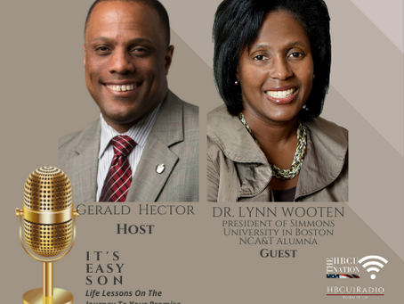 Gerald Hector welcomes Dr. Lynn Wooten to IT'S EASY SON