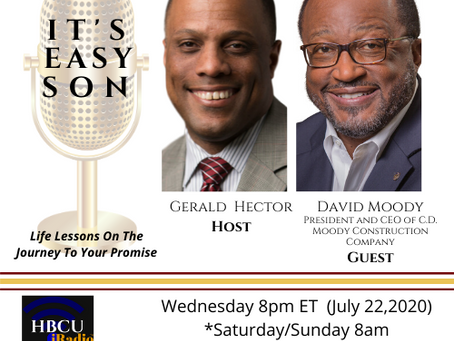 David Moody joins Gerald Hector in the next edition of, IT'S EASY SON