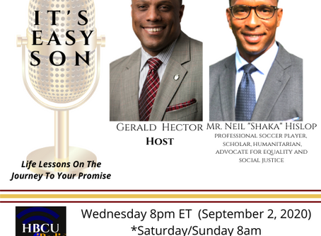 """The Incomparable Mr. Neil """"Shaka"""" Hislop this week on IT'S EASY SON"""