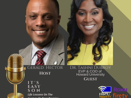 Gerald Hector welcomes Dr. Tashni Dubroy to IT'S EASY SON