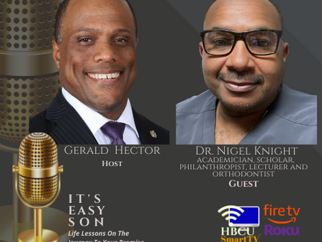 Gerald Hector welcomes Dr. Nigel Knight to #ItsEasySon
