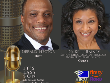 This week on It's Easy Son, Gerald welcomes Dr. Kelli Rainey