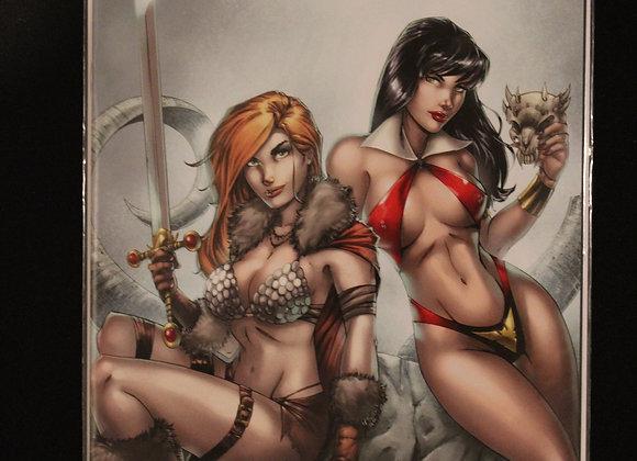 Red Sonja & Vampirella Virgin