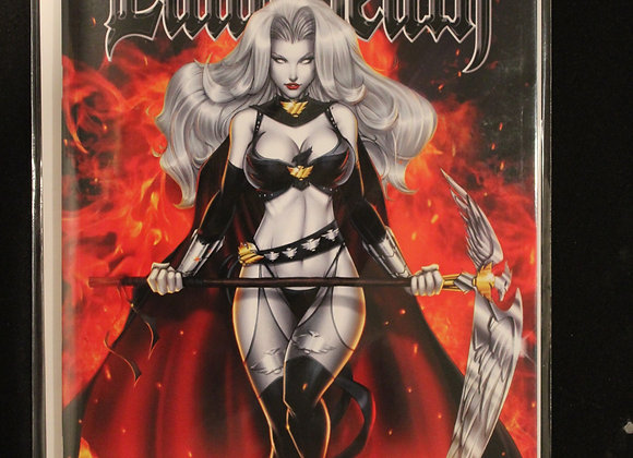 Lady Death Lingerie #1 Title