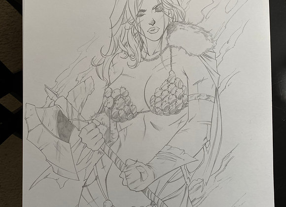 Red Sonja B OA
