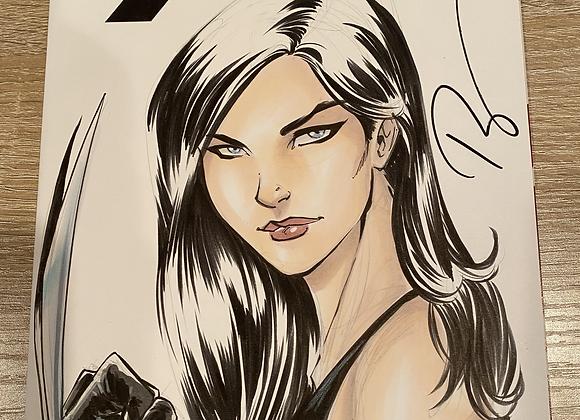 X-23 Bust sketch