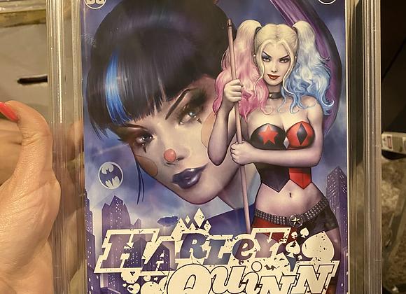 Harley Quinn #75 Title slab