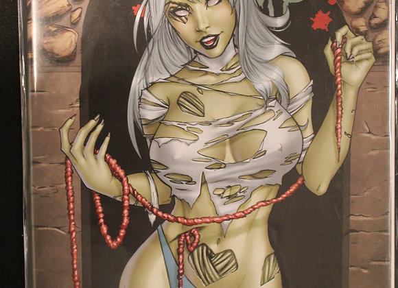 Zombie Tramp White Hair Title