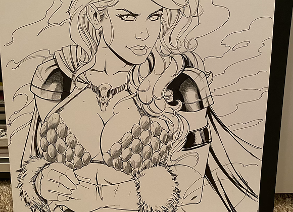 Red Sonja exclusive cover