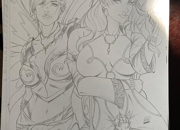 Battle Fairy and the Yeti 2 OA