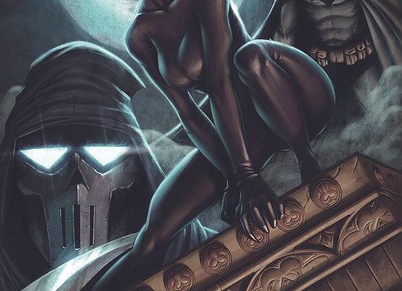 Batman/Catwoman Print