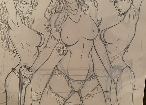 HellWitch cover roughs