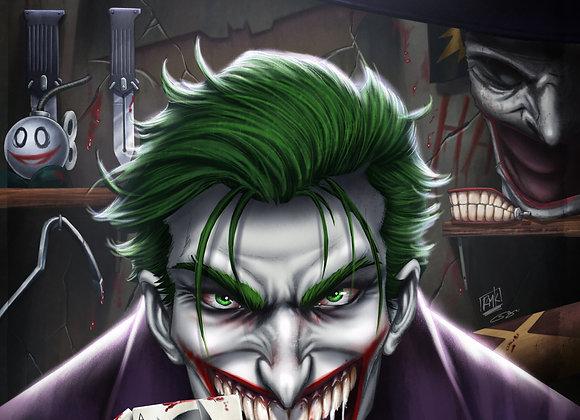 Joker: Year of the Villian print