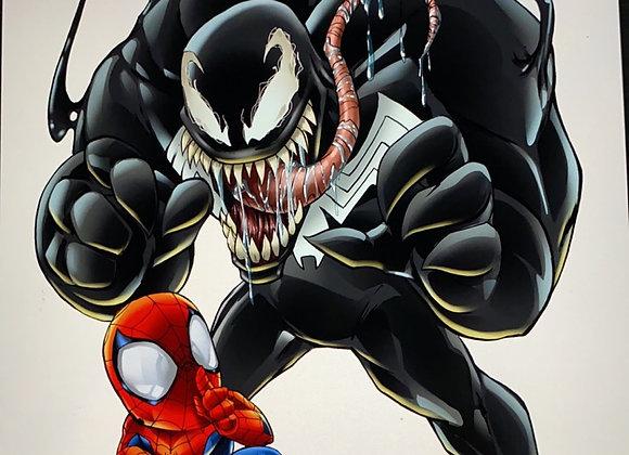 Venom kincaid kid 11x17 print