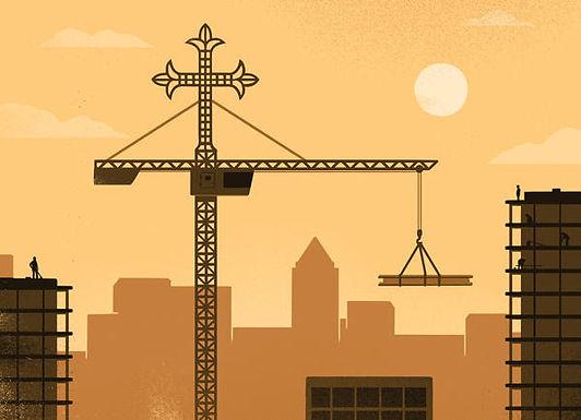 Building on a prayer
