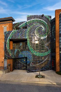 AVAM Mosaic Wall-Aurora Borealis-Photo b
