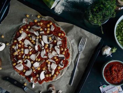 Brokkoli Pizza