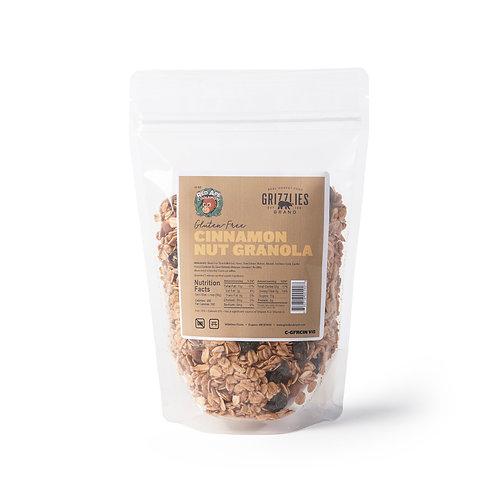Gluten Free Cinnamon Nut Granola