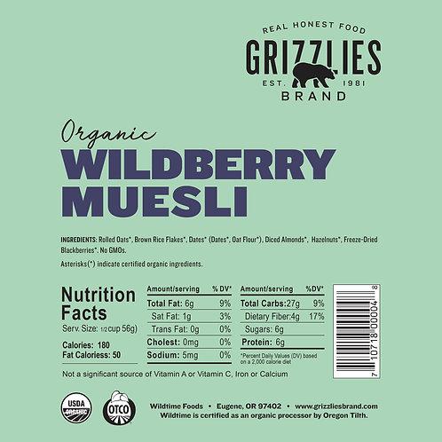 Wildberry Muesli - Bulk