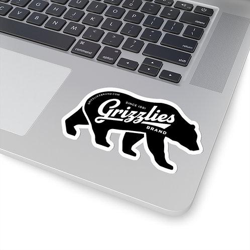 Vintage Grizzlies Brand Sticker