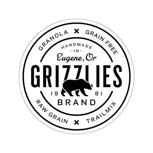 Grizzlies Brand Sticker