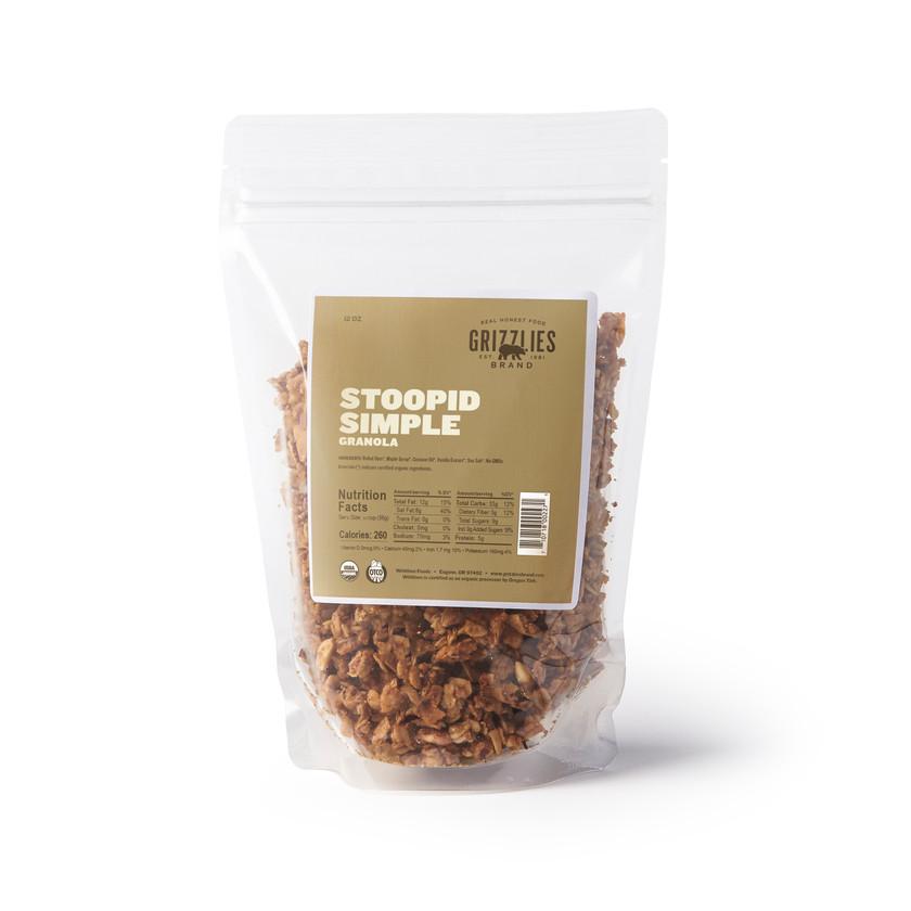Stoopid Simple Granola