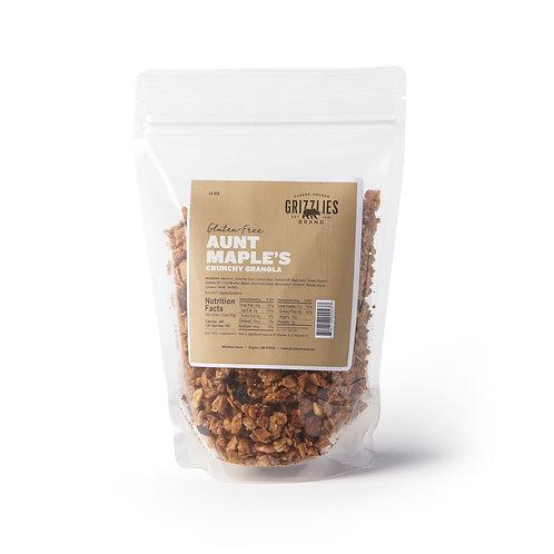 Gluten Free Aunt Maple's Crunchy Granola
