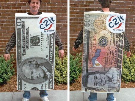 CITIBANK money costumes