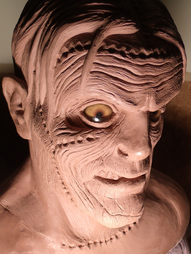 FRANKENSTEIN sculpture 2
