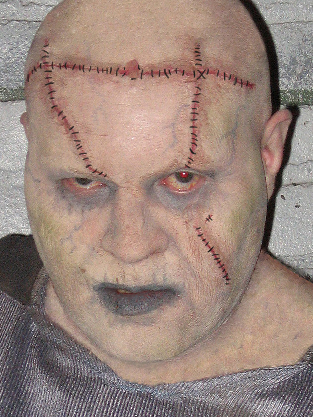 My FRANKENSTEIN makeup