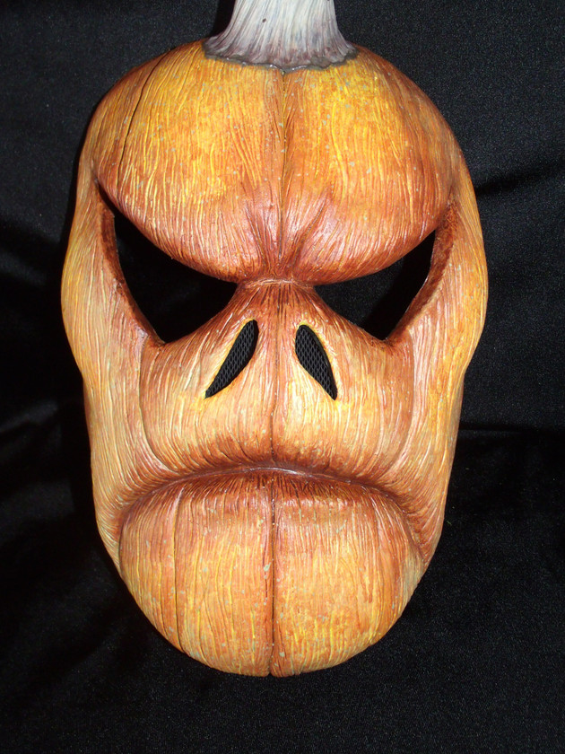 Fall PUMPKIN mask