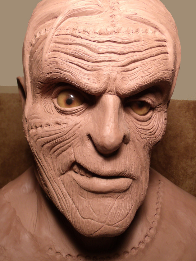 FRANKENSTEIN sculpture 1