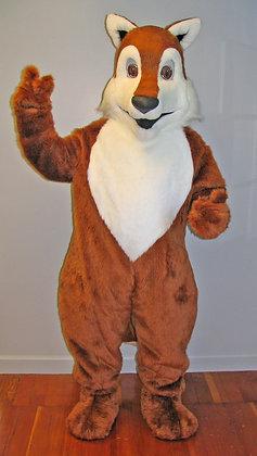 Complete fox costume.