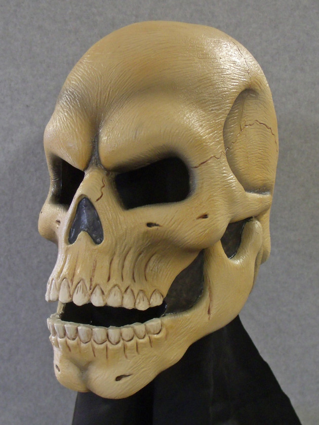 Skull latex mask 2