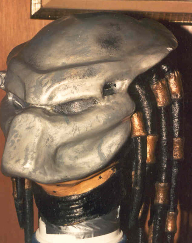 My PREDATOR mask 3