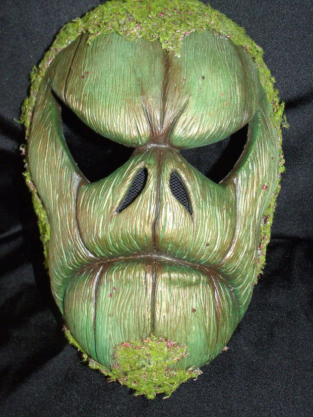 Swamp PUMPKIN mask