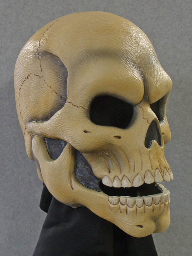Skull latex mask 1