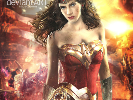 Wonder Woman Armor Art