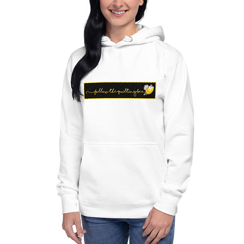 Follow the Quilting Bee Unisex Hoodie