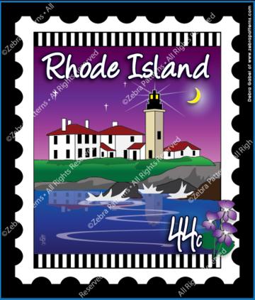 Rhode Island Stamp Panel