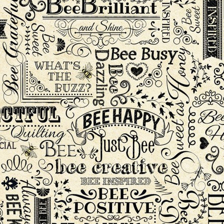 Natural Bee Happy & Positive